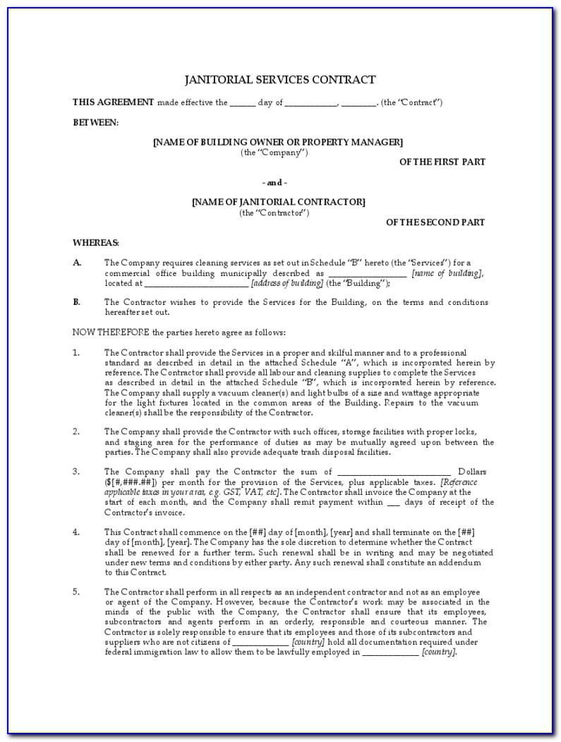 Sample Commission Agreement Form