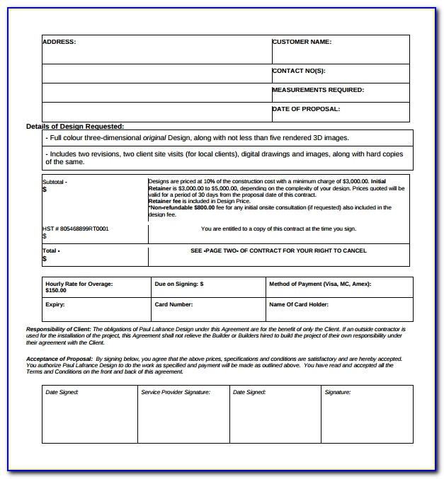 Sample Investor Agreement Form