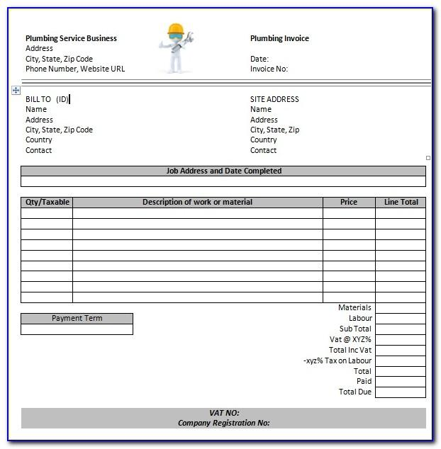 Sample Invoice Professional Services Rendered