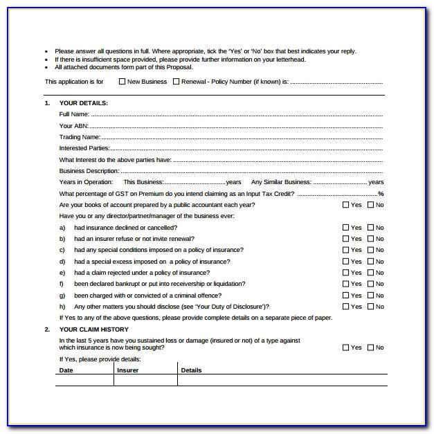 Sample Janitorial Proposal Template