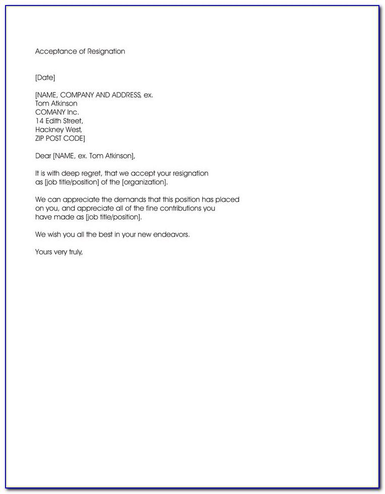 Sample Of Tenancy Agreement Termination Letter