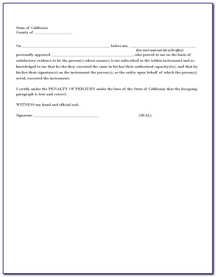 Sample Power Of Attorney To Sign Documents