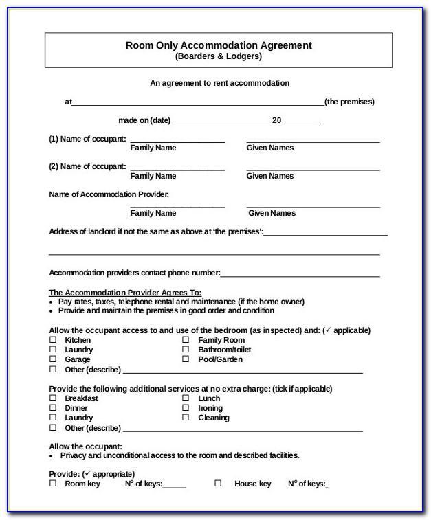 Sample Rental Agreement Doc