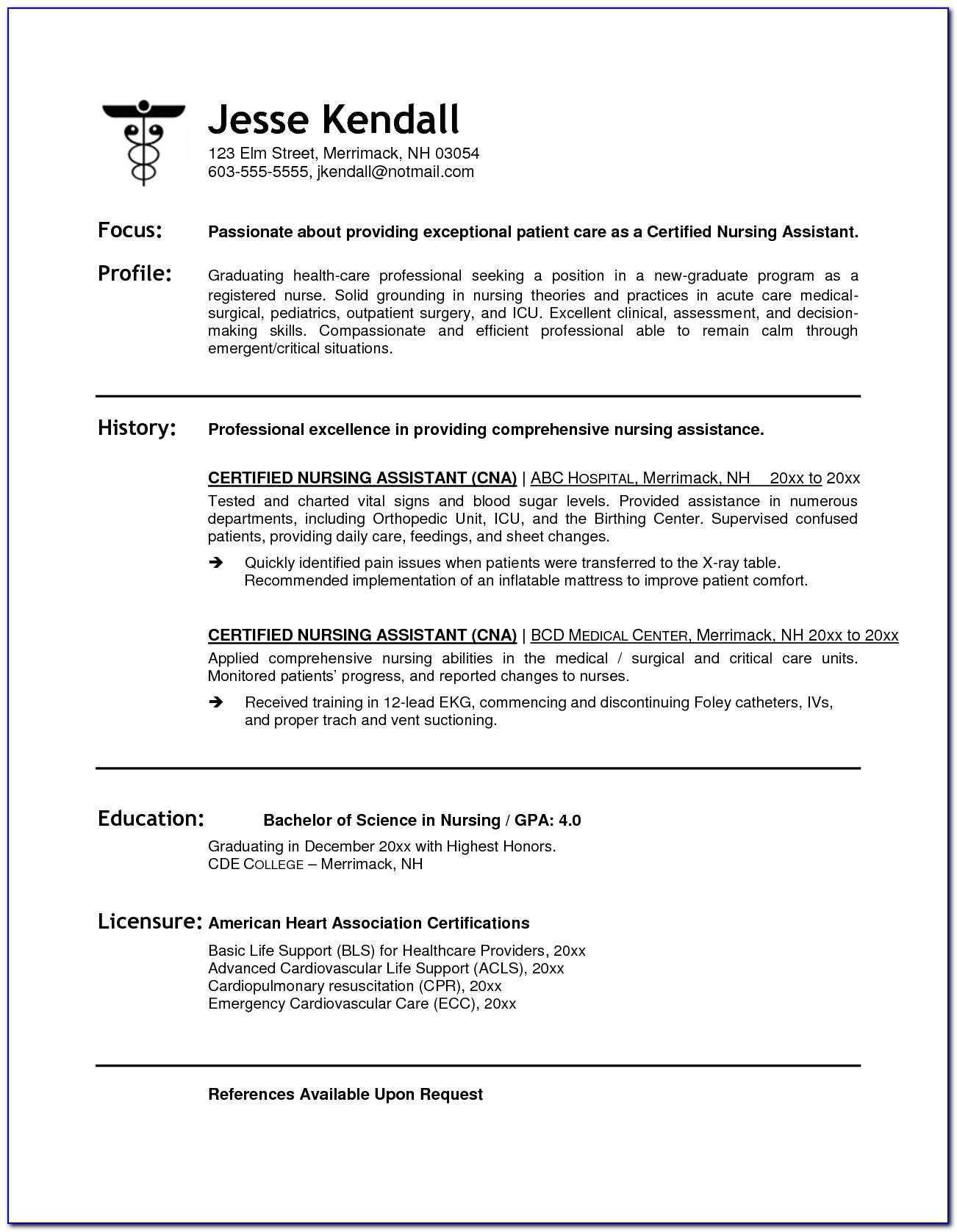 Sample Resume For Bus Driver Position