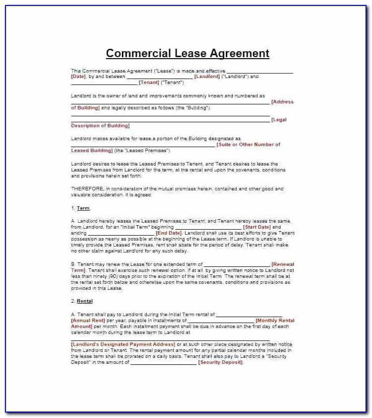 Sample Tenancy Agreement Uk Word