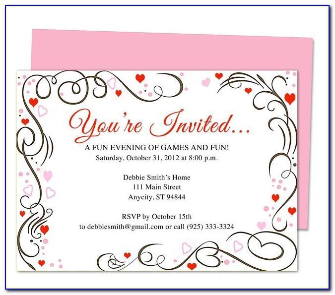 Silver Anniversary Invitation Templates