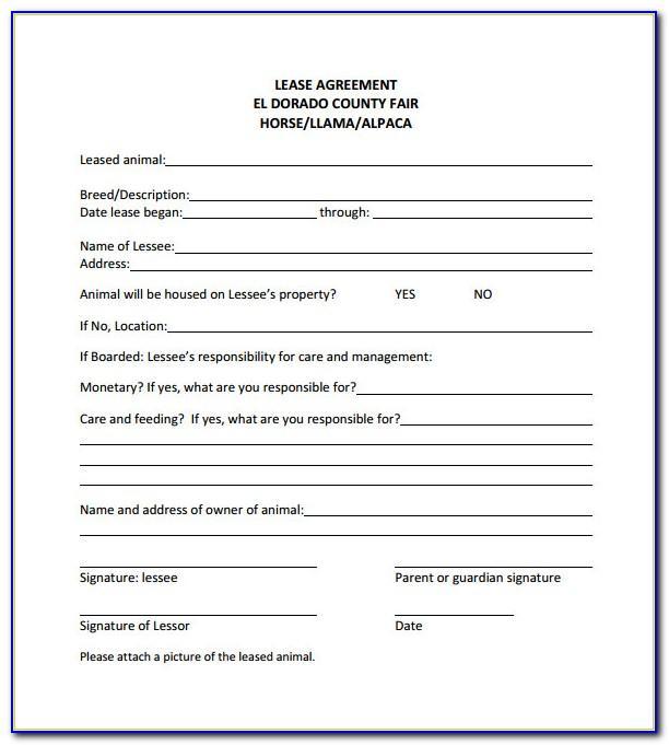 Simple Lease Agreement Nj