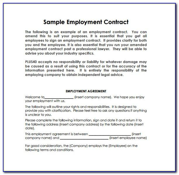 Simple Salary Reduction Agreement Form