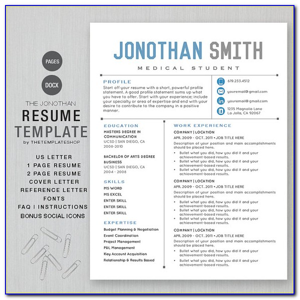 Best Resume Template For Lawyers