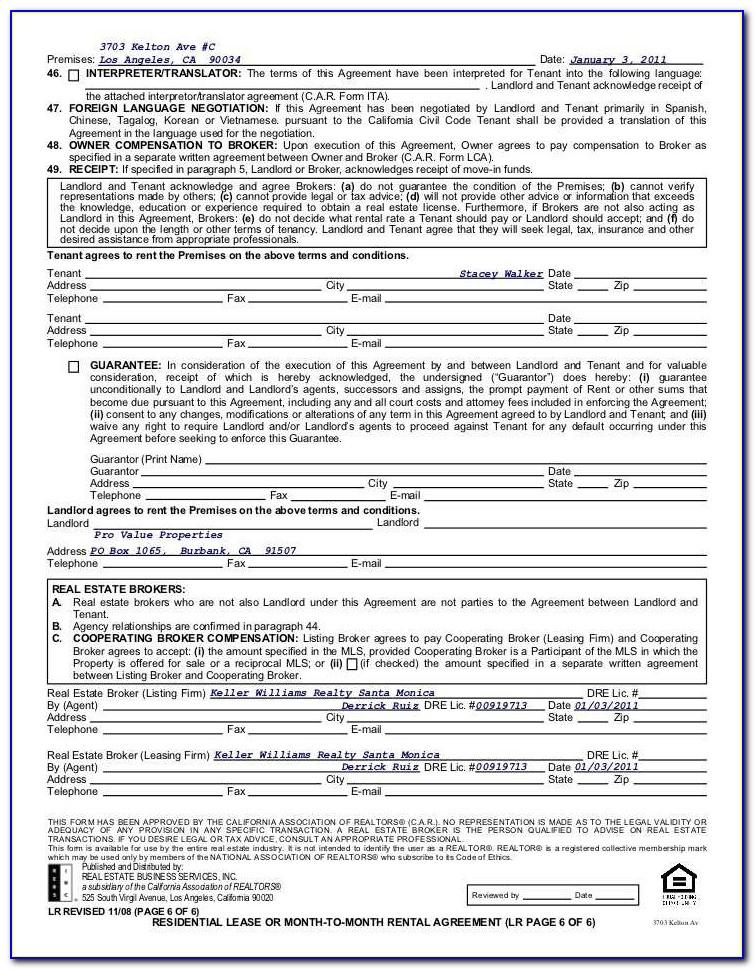 Commercial Real Estate Lease Agreement Texas