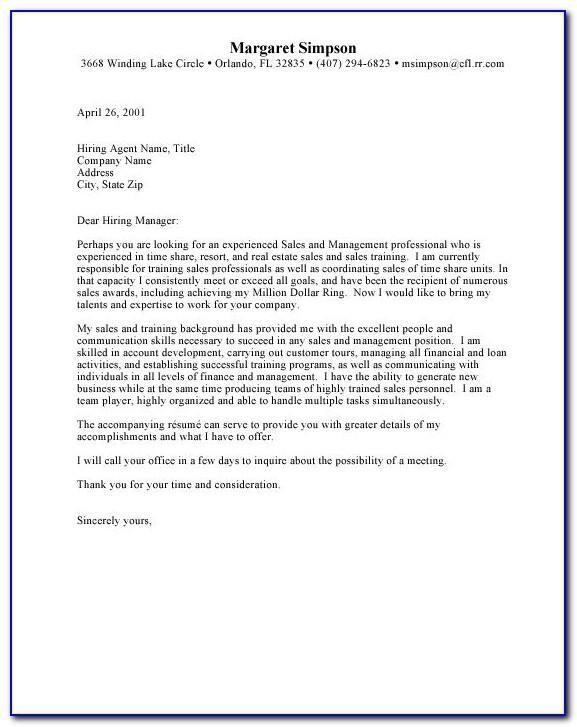 Commercial Real Estate Letter Samples