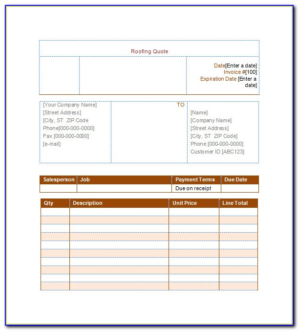Creative Invoice Template Free Download