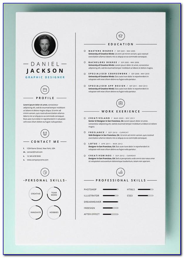 Creative Resume Design Templates Free Download