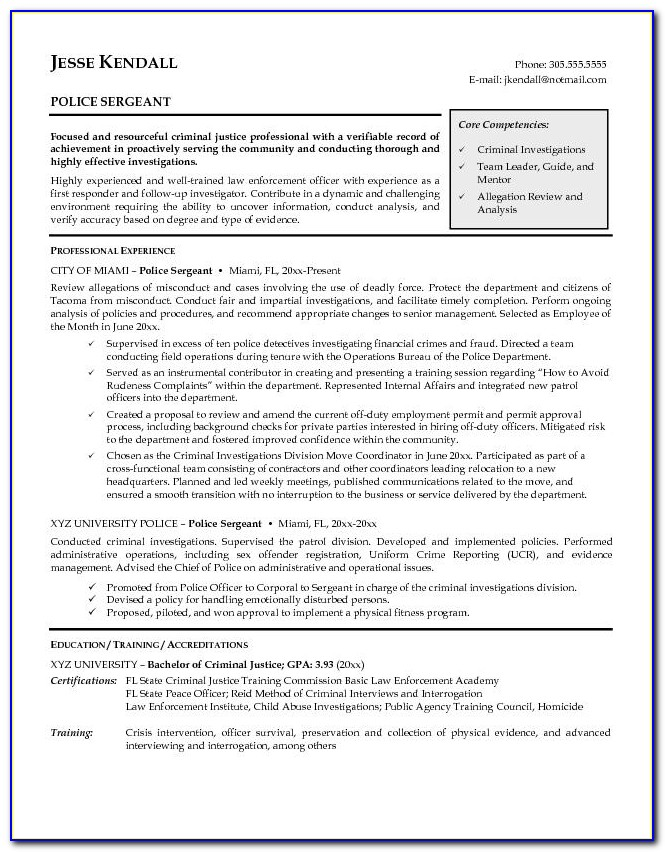 Cv Template For Internship Student