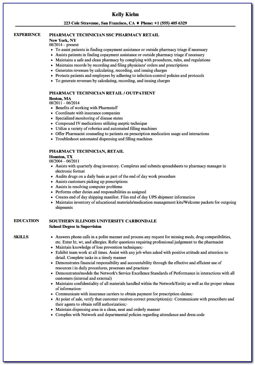 Cv Template For Retail Manager