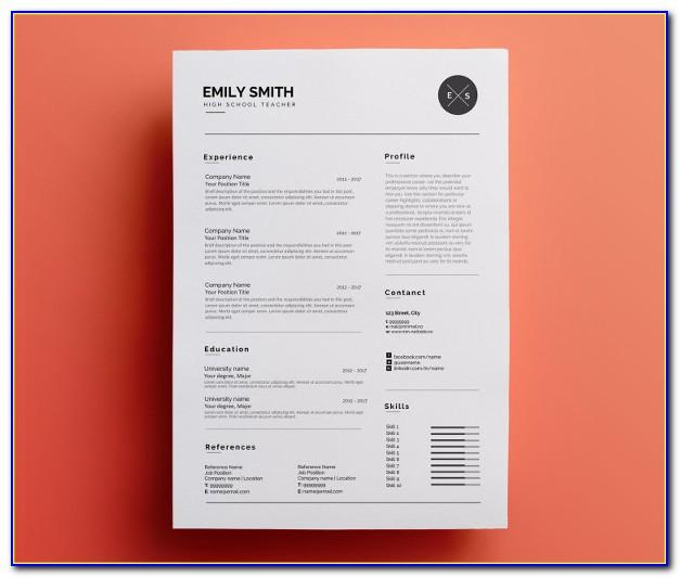 Download Microsoft Word Resume Templates For Mac