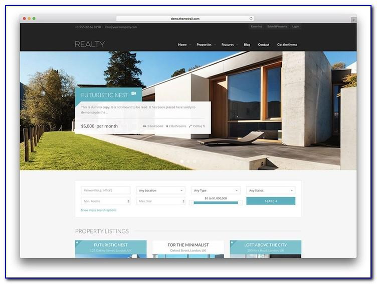 Estato. Responsive Featured Real Estate Html Theme Free Download
