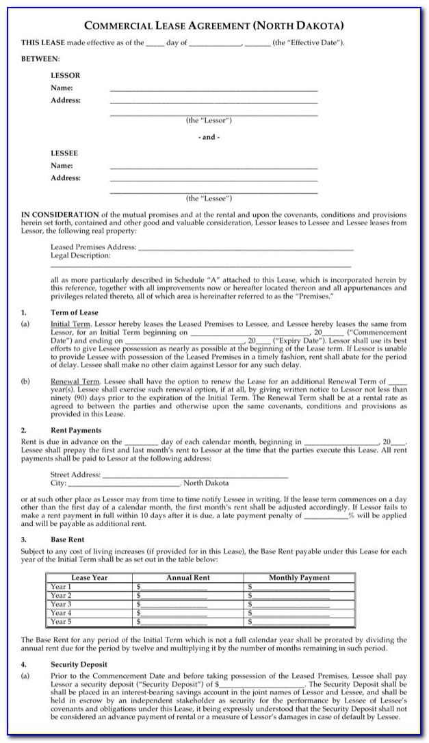 Florida Real Estate Lease Forms Free