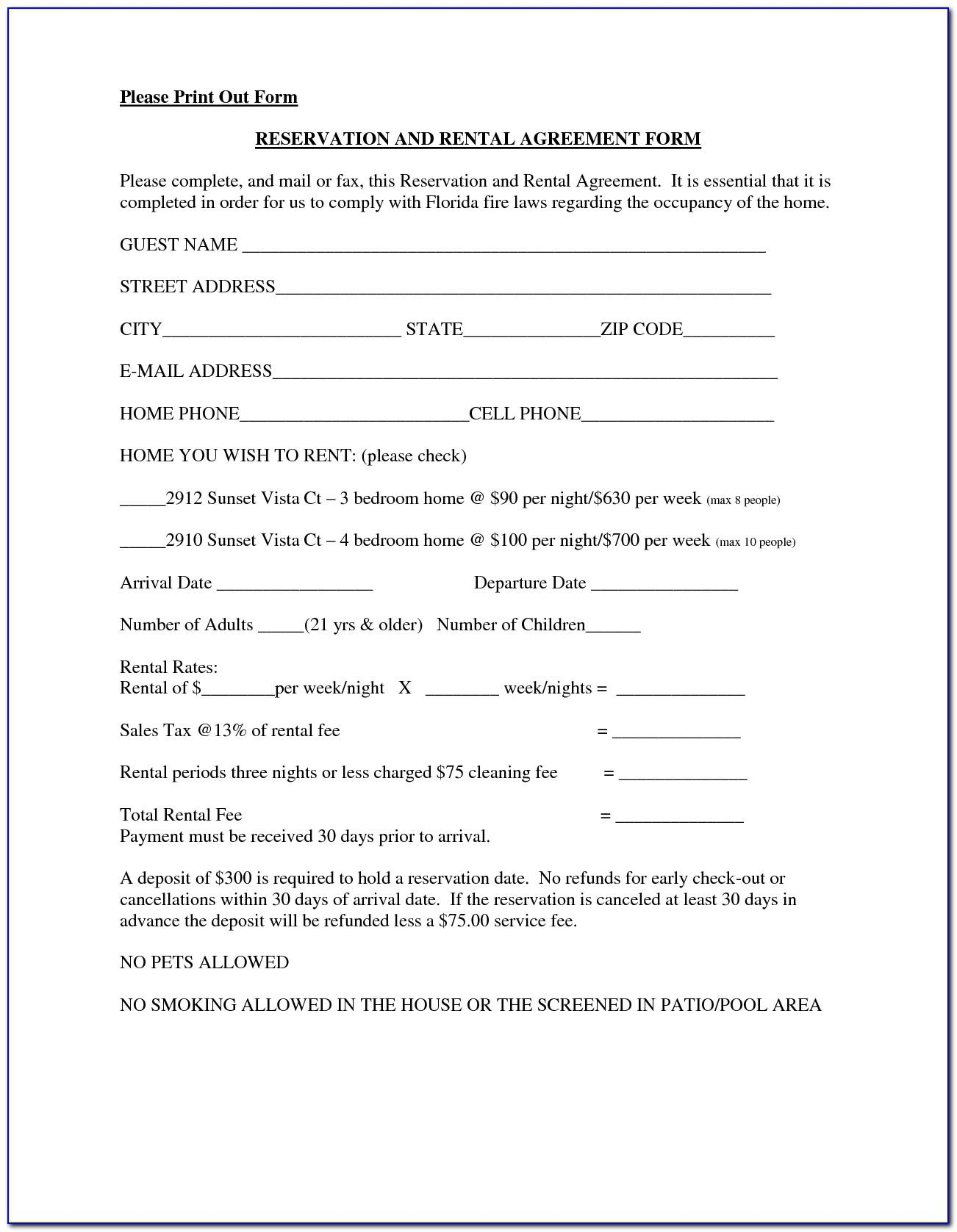 Free Commercial Real Estate Lease Agreement Form