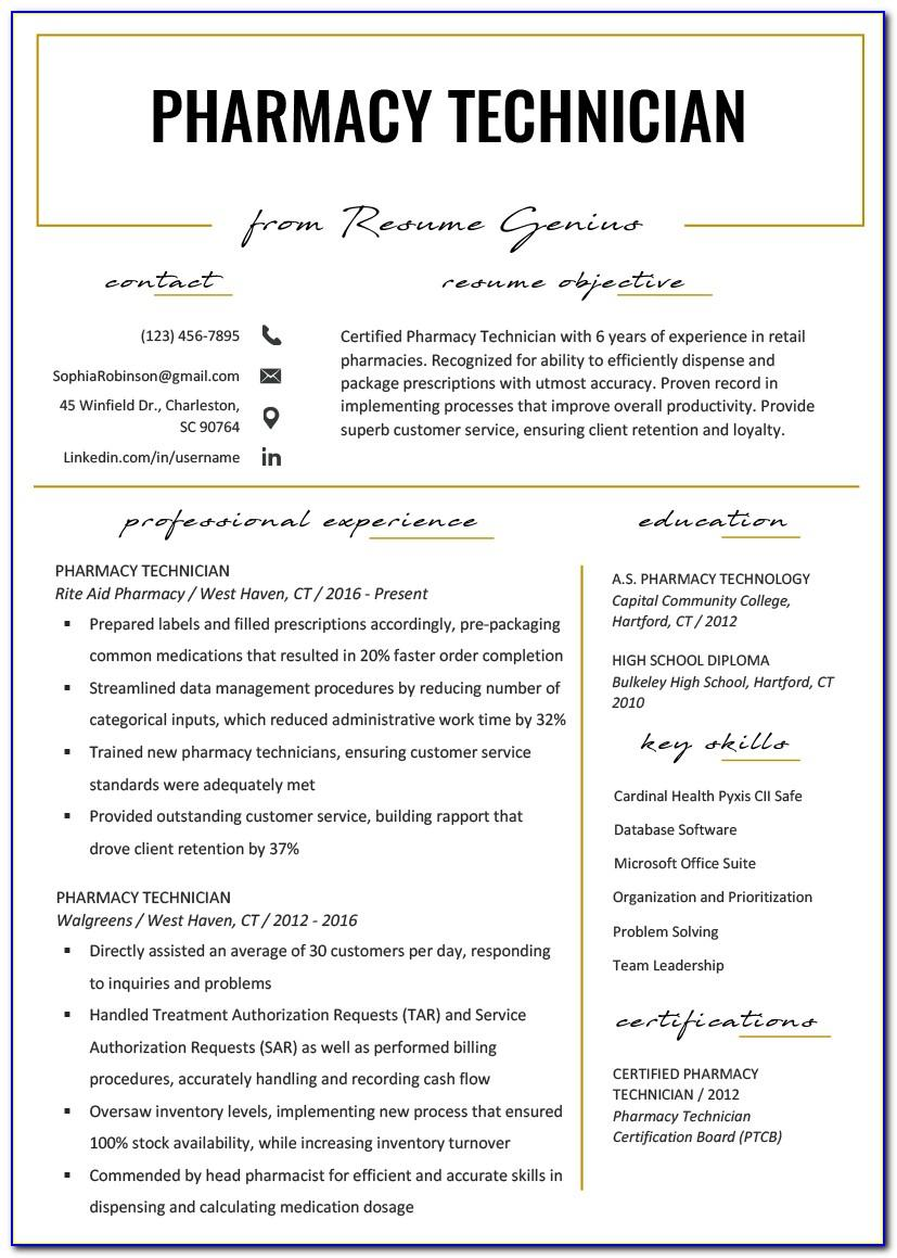 Free Cv Template For Retail Manager