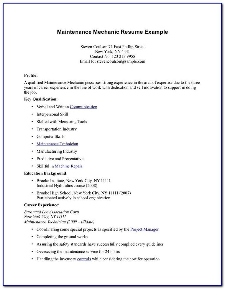 Free Modern Resume Templates For Teachers