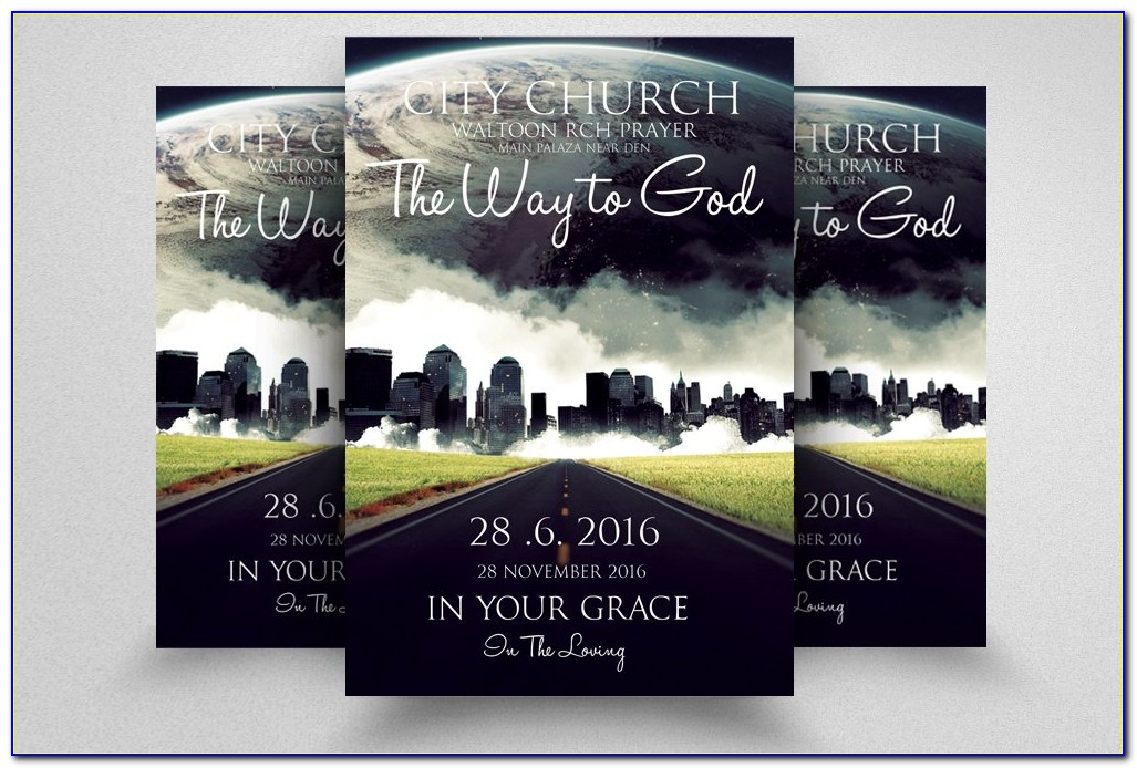 Free Printable Religious Flyer Templates