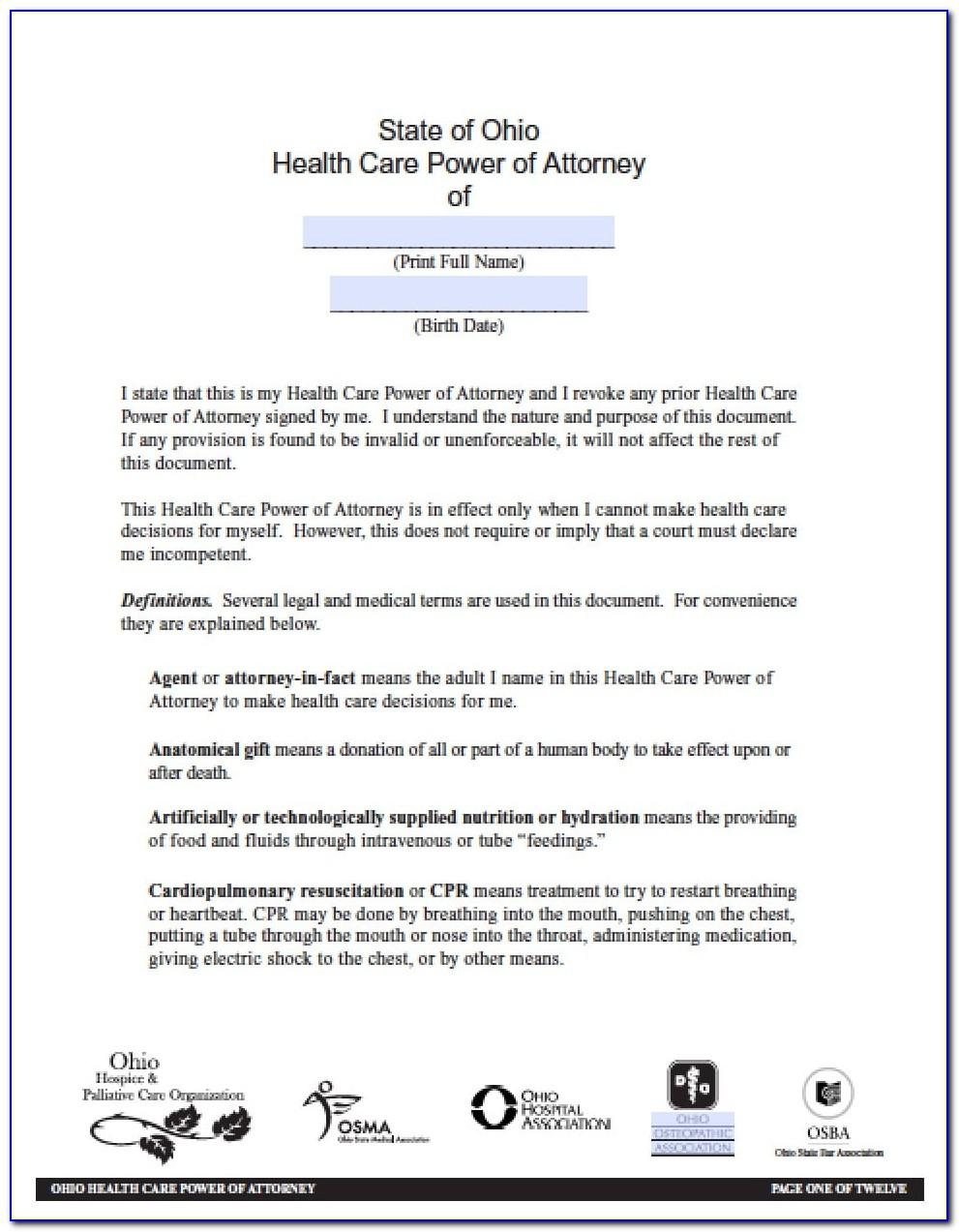 Free Real Estate Power Of Attorney Form California