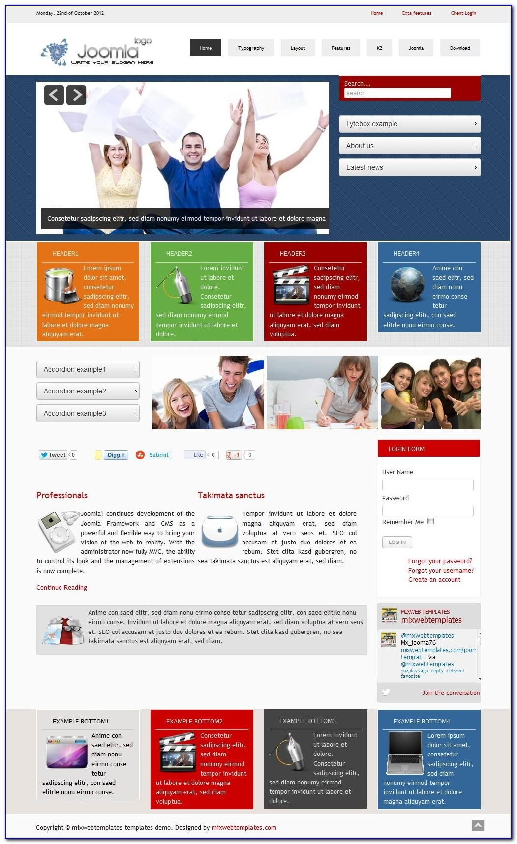 Free Responsive Newsletter Template Html