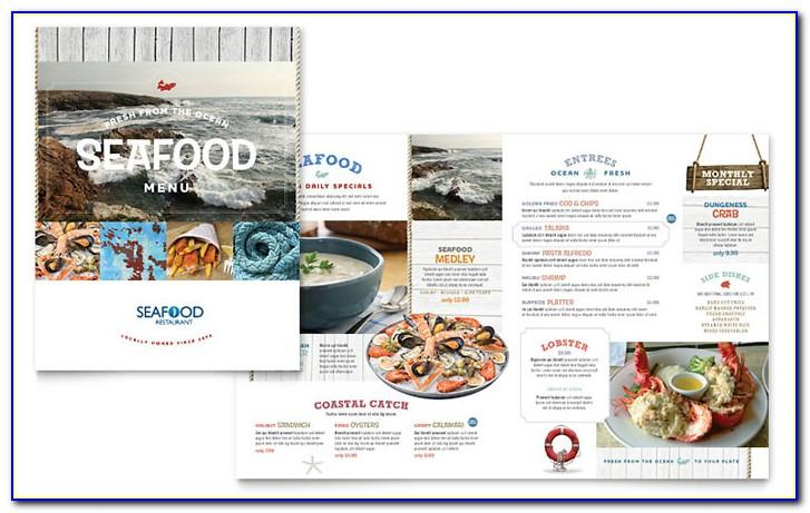 Free Restaurant Menu Templates For Microsoft Publisher