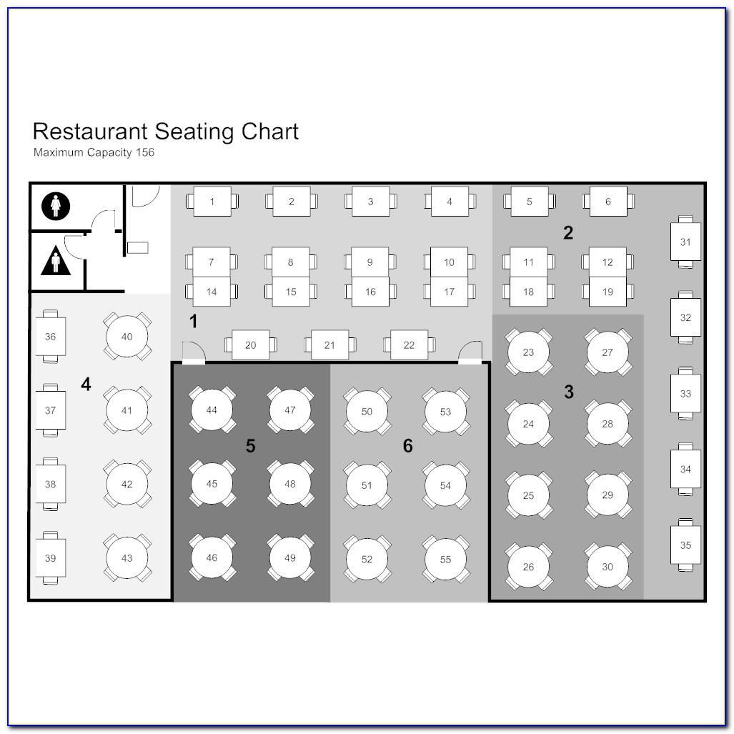 Free Restaurant Seating Chart Maker