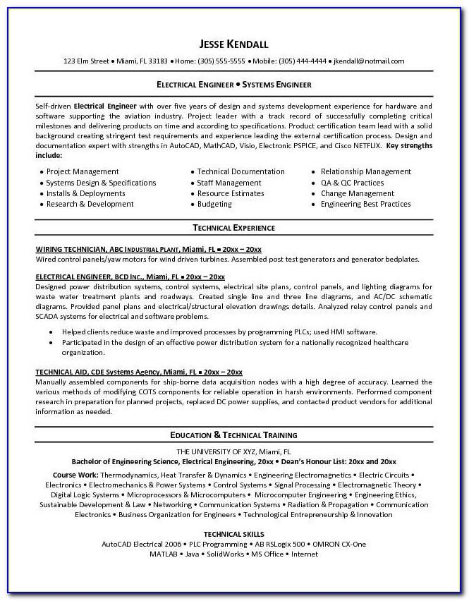 Free Resume Samples For Construction Worker