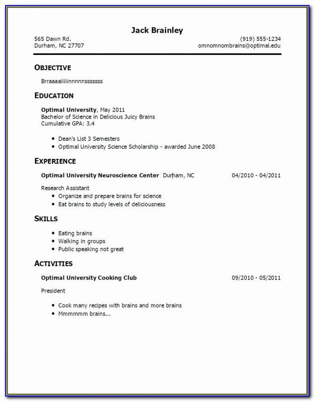 Free Resume Template Download Wordpad