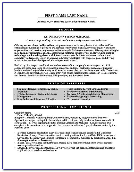Free Resume Template For Sales Representative