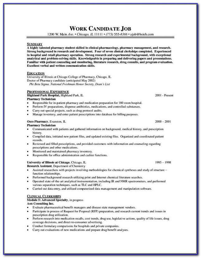 Free Resume Templates For Microsoft Wordpad