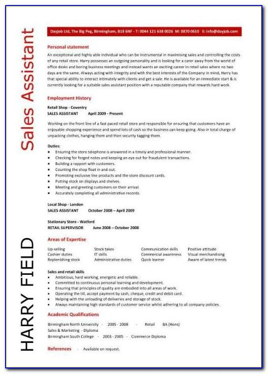 Free Resume Templates For Nursing Students