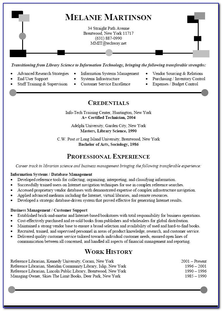 Free Sample Resume Templates 2019