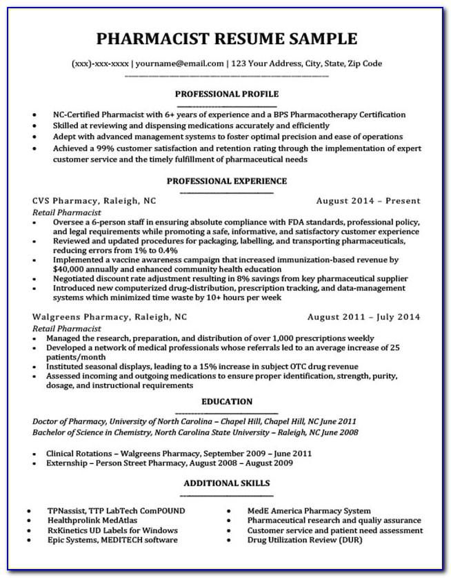 Good Resume For Retail Manager