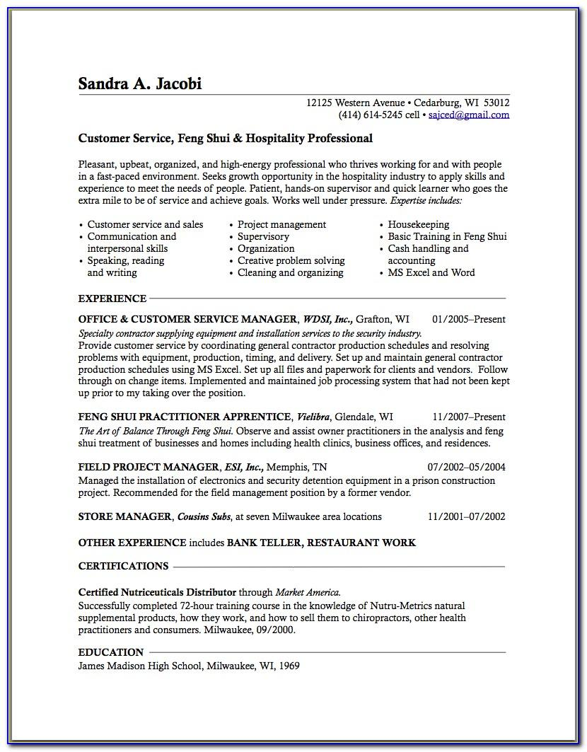 Good Resume Objectives For Laborer