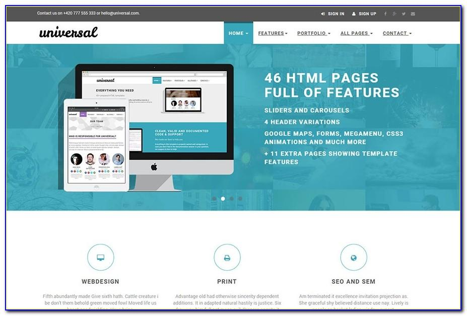 Html5 Responsive Templates Free Download With Css And Jquery