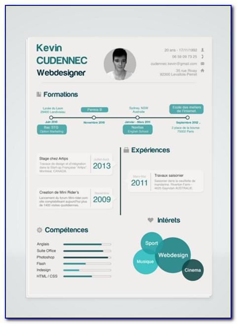 Infographic Cv Templates Free Download