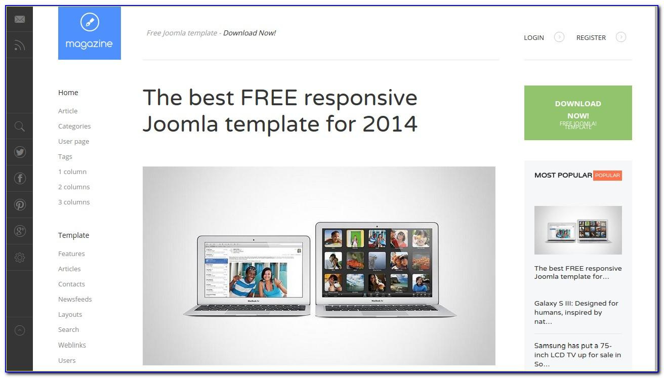 Joomla Responsive Website Templates Free Download