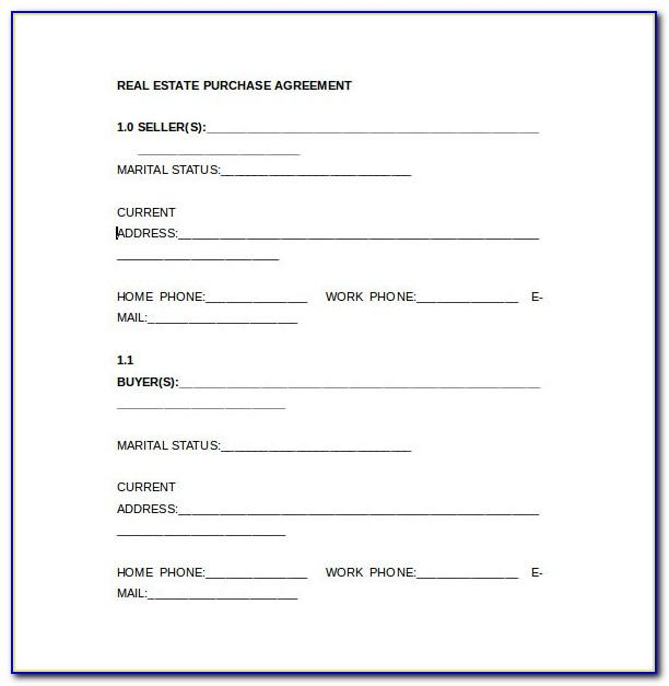 Kansas Real Estate Purchase Contract Form