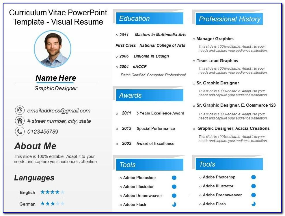 Portfolio Resume — After Effects Project Videohive Template Free Download