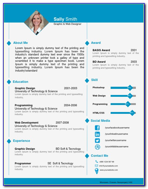 Professional Cv Template For Lawyers