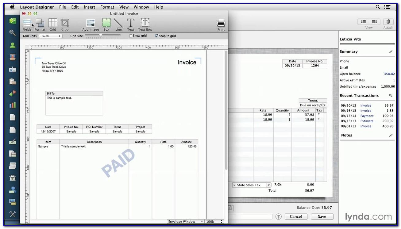 Quickbooks Pro 2016 Edit Invoice Template