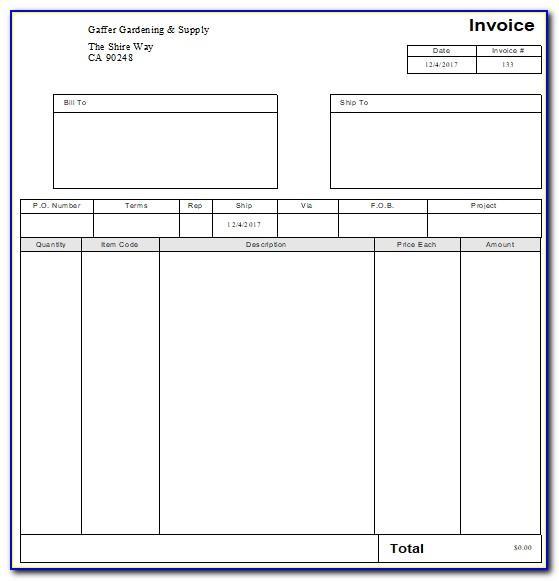 Quickbooks Pro Estimate Templates