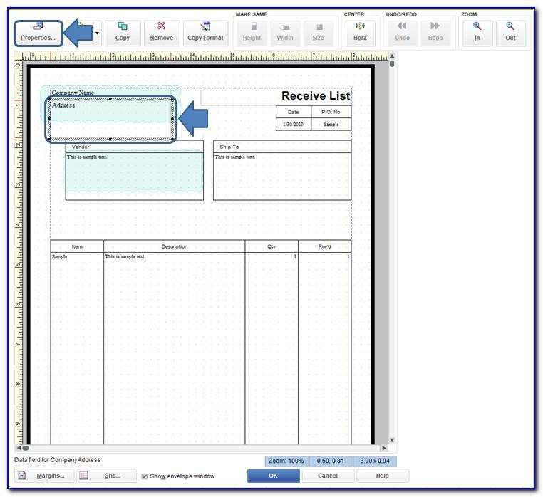 Quickbooks Sales Order Sample