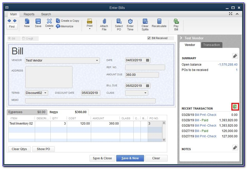 Quickbooks Statement Writer Templates