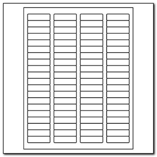 Quill Label Templates 2 X4
