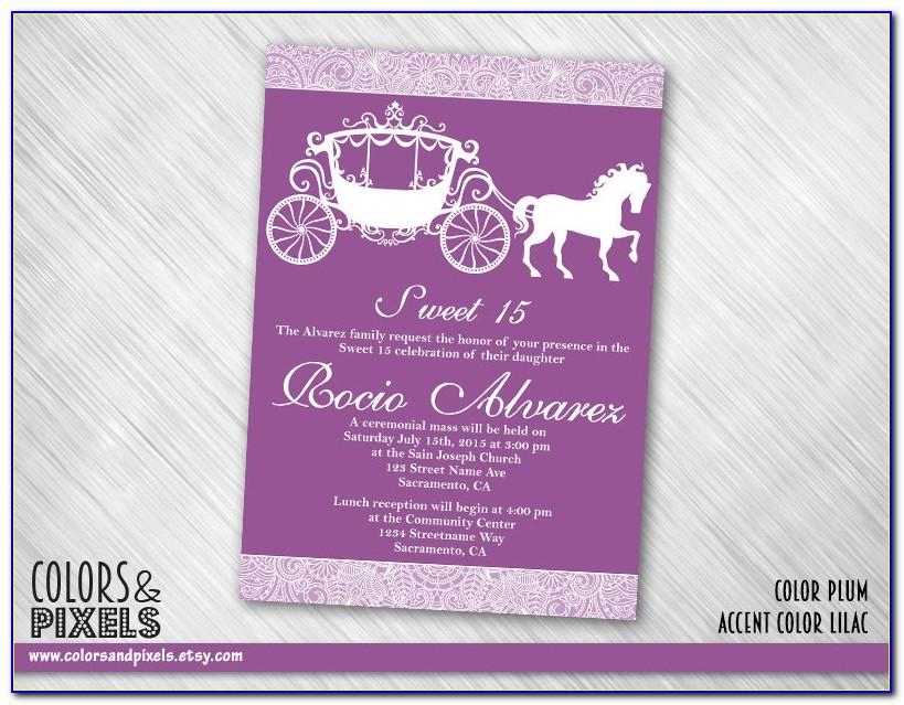 Quinceanera Invitation Wording Samples In English